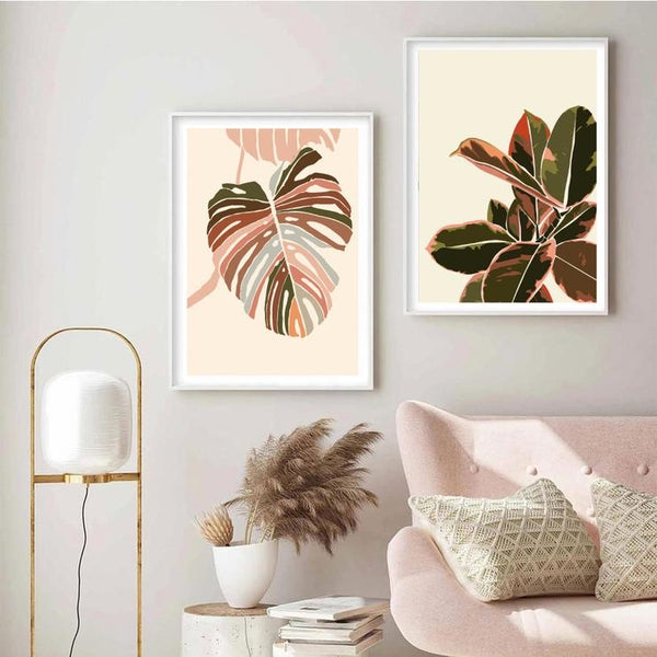 Monstera Illustration Print