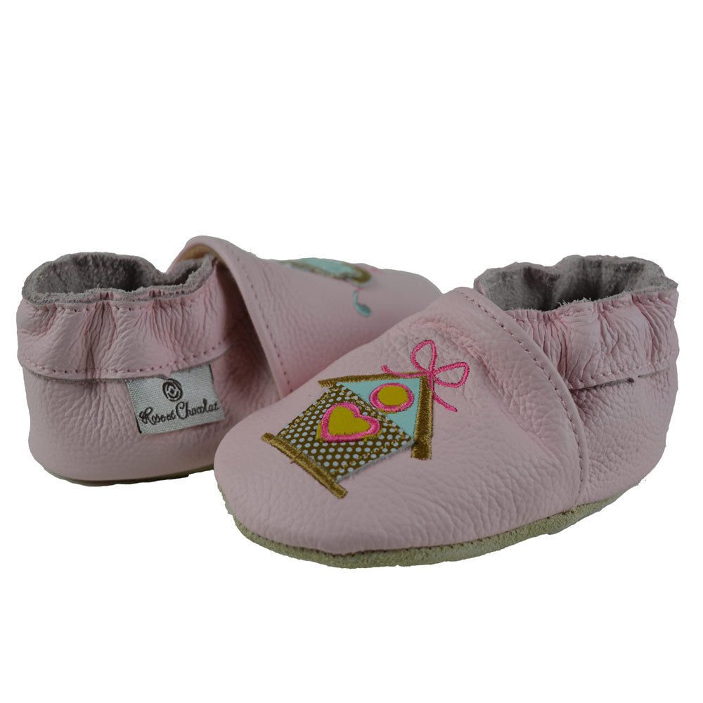48c956b06c20b Rose et Chocolat® Kids Shoes Canada   Leather Slippers (Baby Toddler ...