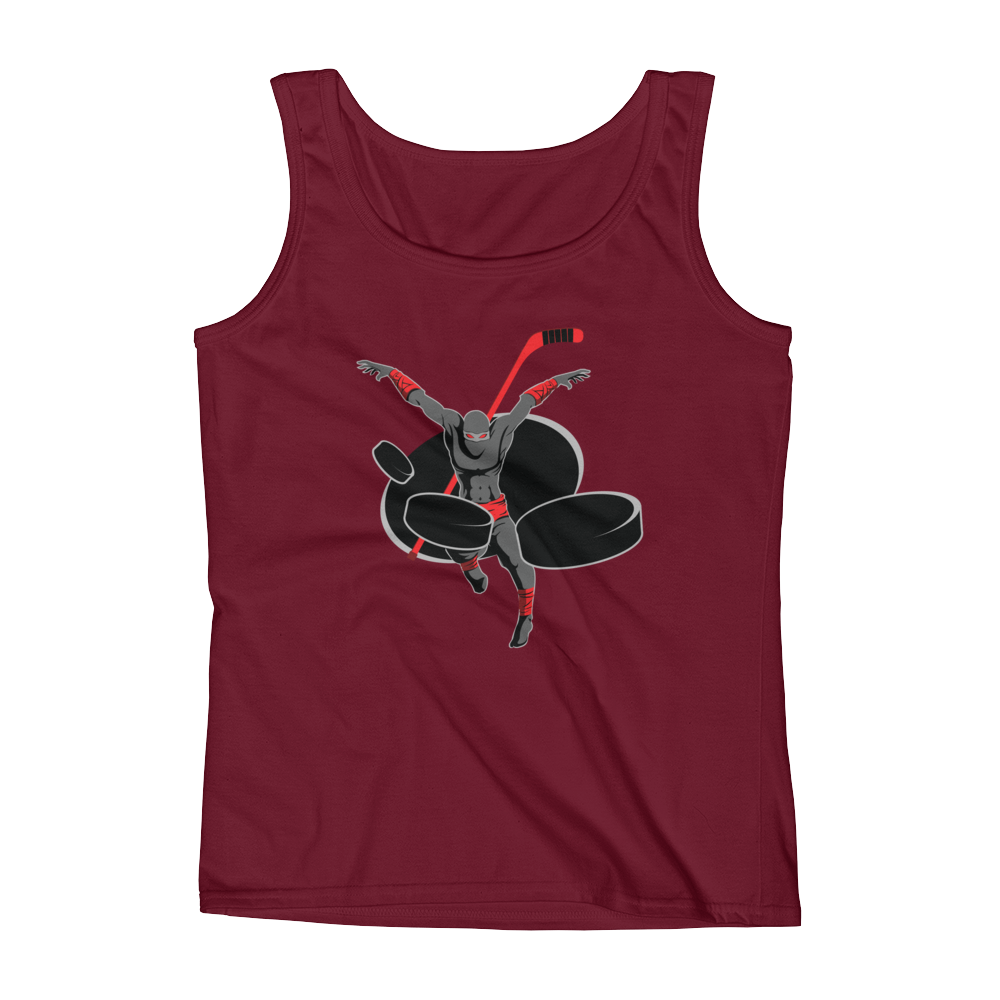 Five Hole Ninjas Ladies' Tank