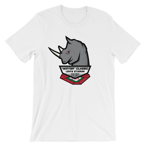 Rhinos Unisex short sleeve t-shirt