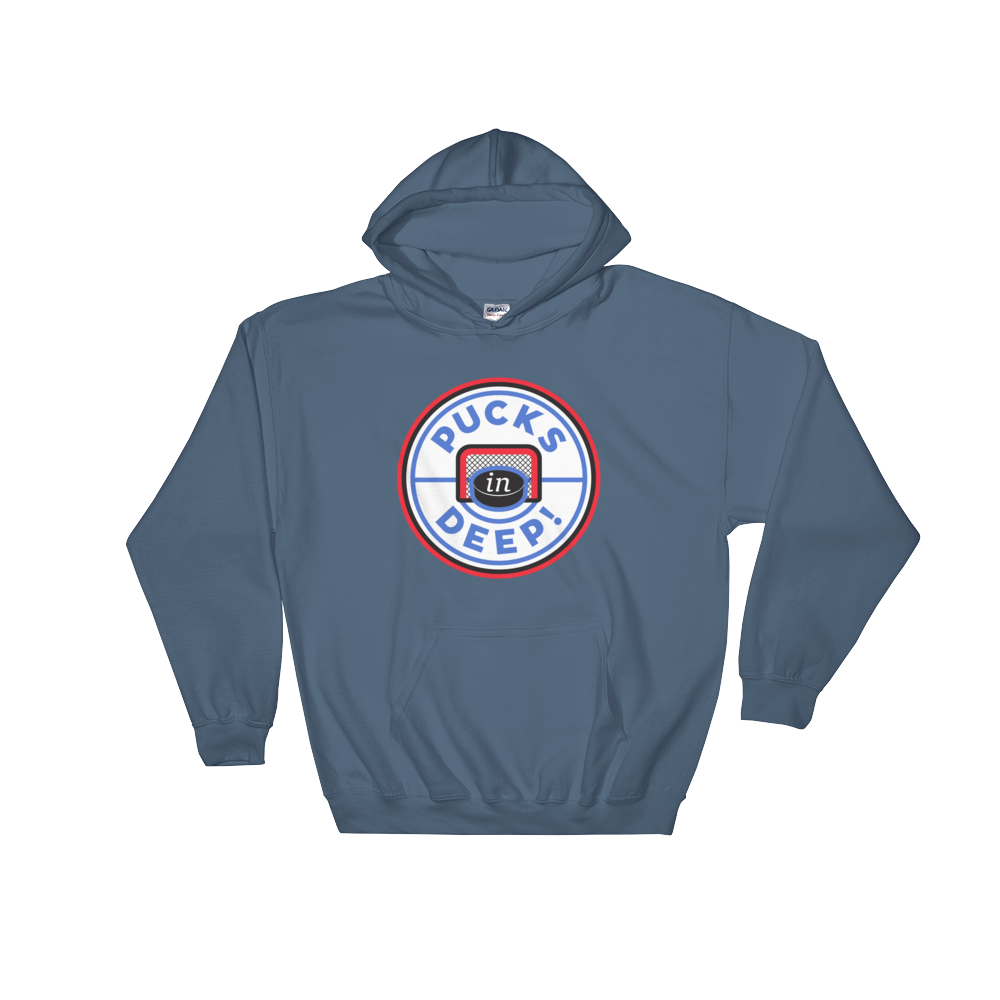 Pucks in Deep! Hooded Sweatshirt