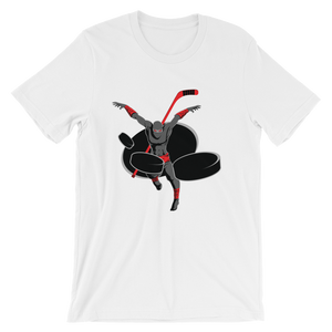 Five Hole Ninjas Unisex short sleeve t-shirt