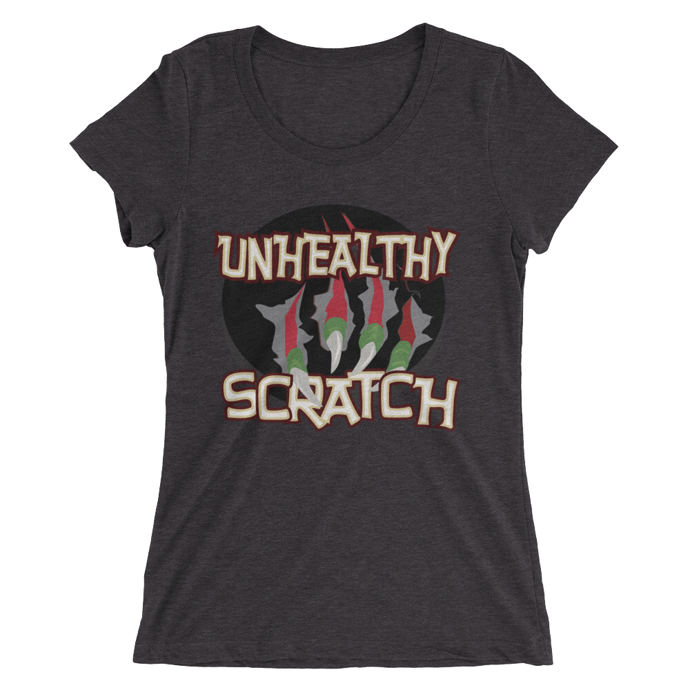 Unhealthy Scratch Ladies' short sleeve t-shirt