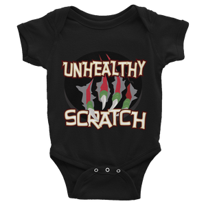 Unhealthy Scratch Infant Bodysuit
