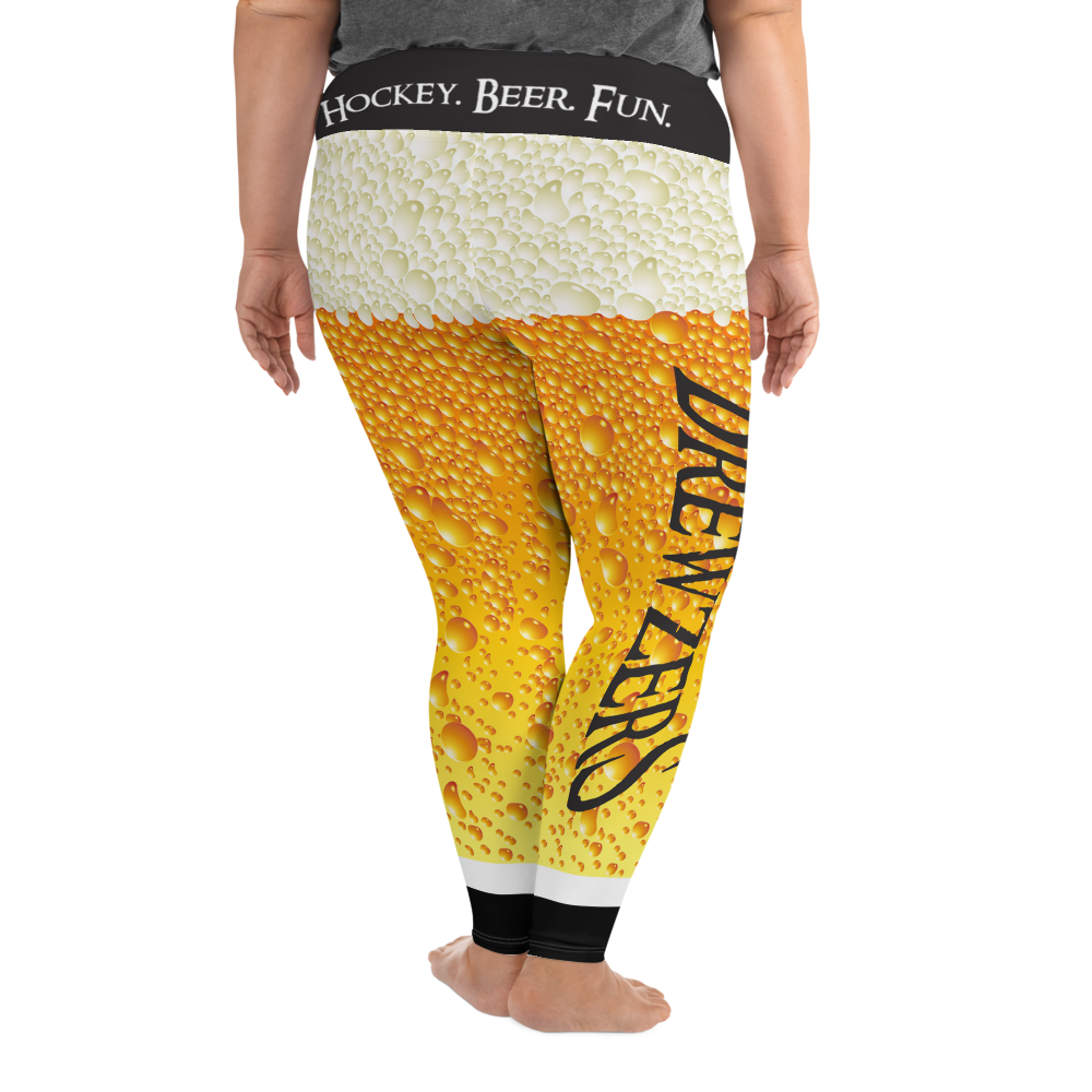 Brewzers All-Over Print Plus Size Leggings