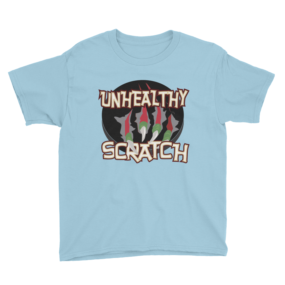 Unhealthy Scratch Youth Short Sleeve T-Shirt
