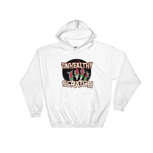 Unhealthy Scratch Hooded Sweatshirt
