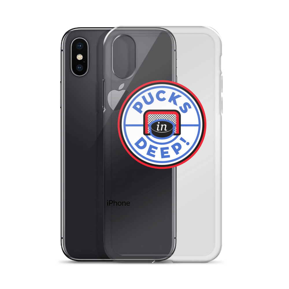 Pucks in Deep! iPhone Case