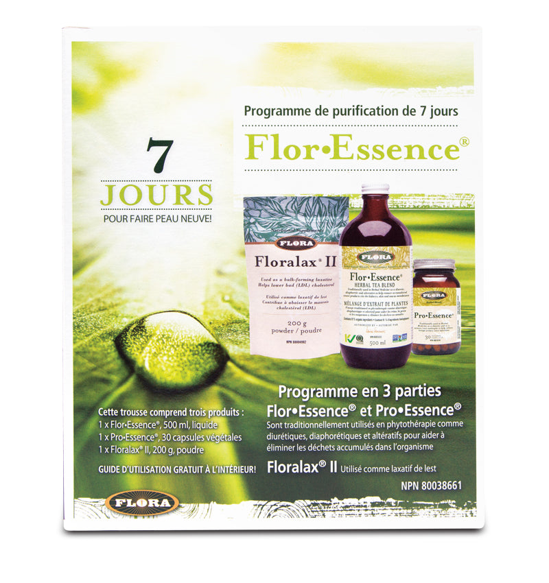 Floressence programme de Purifications de 7 jours