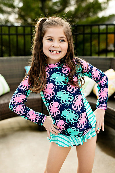 LONG SLEEVE OCTOPUS SWIMSUIT