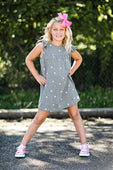 dress with small heart print