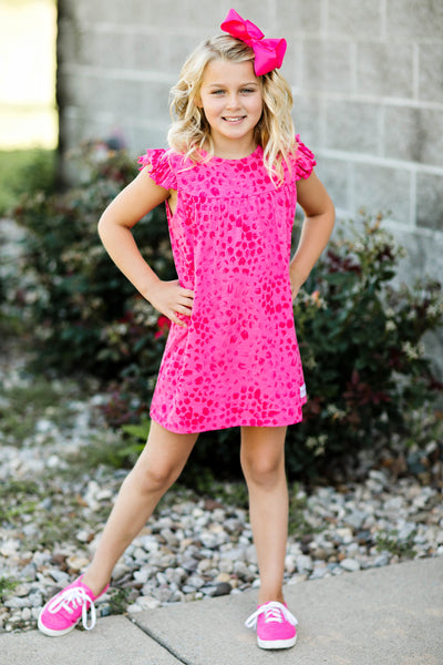 flower print dress for girls