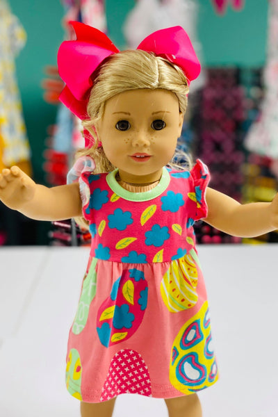 EGG HUNT DOLL DRESS