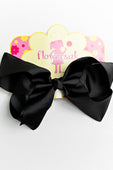 BLACK BOW WITH CLIP