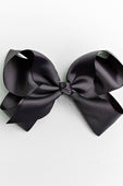 DARK GRAY BOW