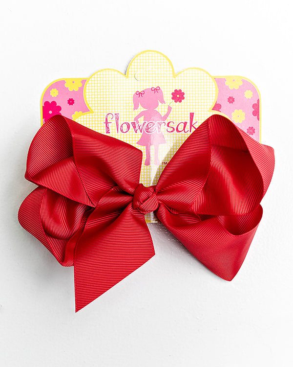 RED BOW WITH CLIP