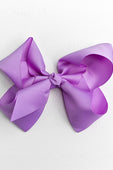 light purple bow with clip
