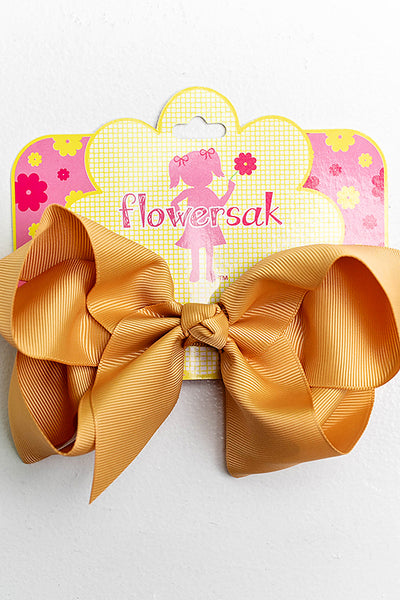 GOLD BOW WITH CLIP