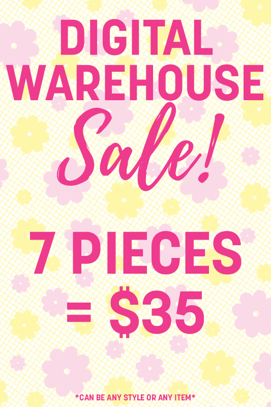 7 Digital Warehouse Sale Items = $35