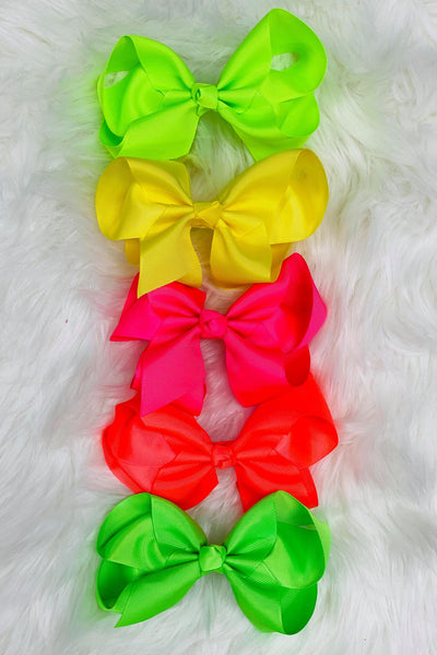 Neon Bow Bundle