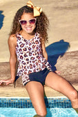Animal Print Swimsuit For Girls
