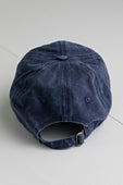Navy Washed Baseball Cap