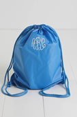 Light Blue Cinch Sack