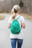 Green Cinch Sack
