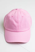 Light Pink Baseball Cap