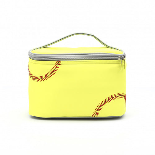 Softball Insulated Lunch Box - Real Softball Material