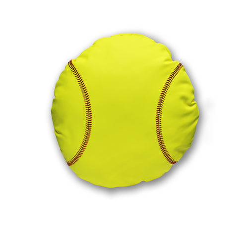 Softball Pillow - Real Softball Material