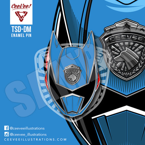 TSD-DM Dekamaster- Soft Enamel Collectible Pin