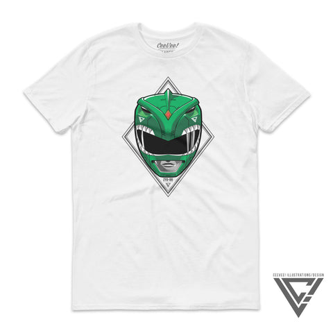 ZYU-06 Dragonranger (White) - Unisex/Men's Tee