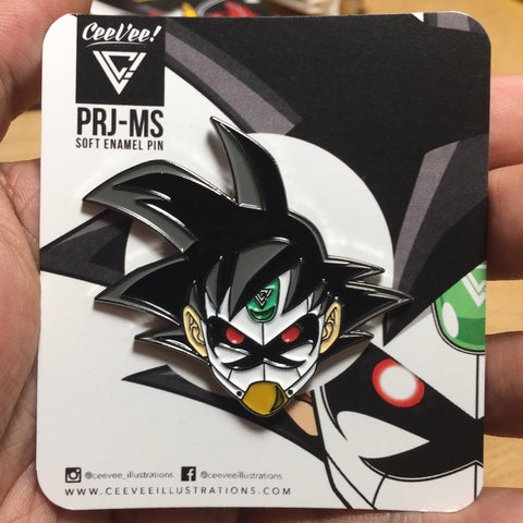 PRJ-MS Project MS - Large Soft Enamel Collectible Pin