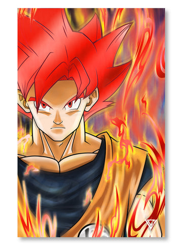 "Earth's Greatest Defender SSG Premium Red Foil Poster - 11"" x 17"""