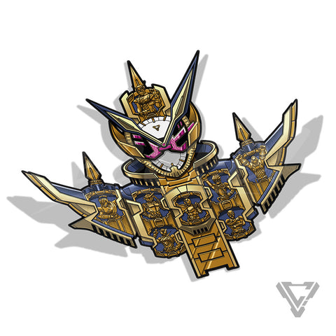 "Grand Zi-O - 4""x 4"" Premium Foil Sticker"