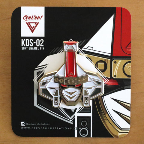 KDS-02 Kakure Daishogun - Soft Enamel Collectible Pin