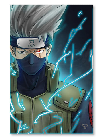 "Kakashi of the Alliance Premium Silver Foil Poster - 11"" x 17"""