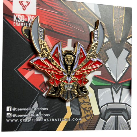 KSG-KG Kanzen Gokaioh - Soft Enamel Collectible Pin