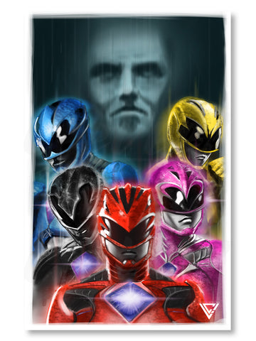 "MMPR Movie - 11"" x 17"" Poster"
