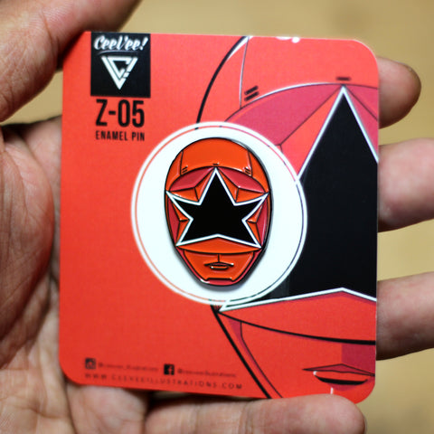 Z-05 SP Squadron Red - Soft Enamel Collectible Pin