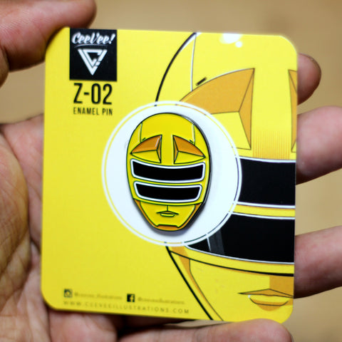 Z-02 SP Squadron Yellow - Soft Enamel Collectible Pin