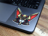 "OhRobo - 3""x 3"" Vinyl Sticker"