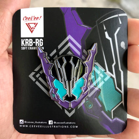 KRB-RG Rogue Soft Enamel Collectible Pin