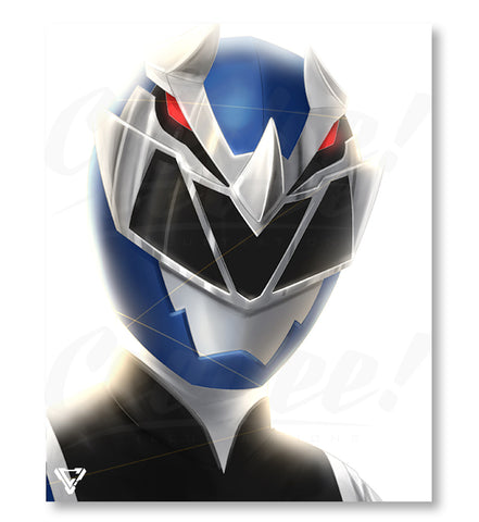 "RyusoulBlue - 8"" x 10"" Mini Poster"