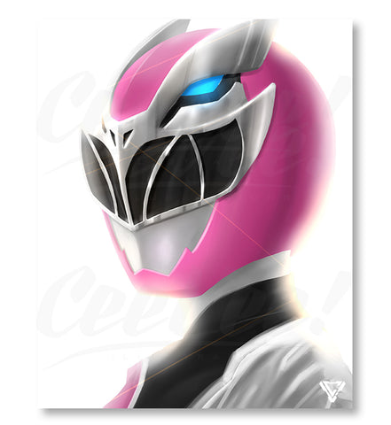 "RyusoulPink - 8"" x 10"" Mini Poster"