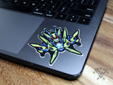 "Shining Assault Hopper - 3""x 3"" Vinyl Sticker"