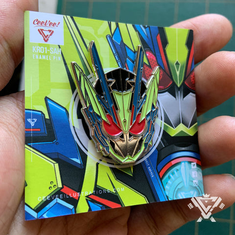 KR01-SAH Soft Enamel Collectible Pin