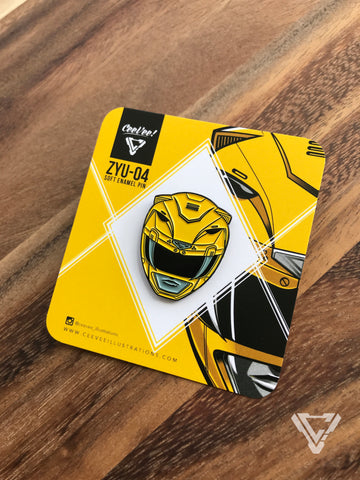ZYU-04 Tigerranger - Soft Enamel Collectible Pin