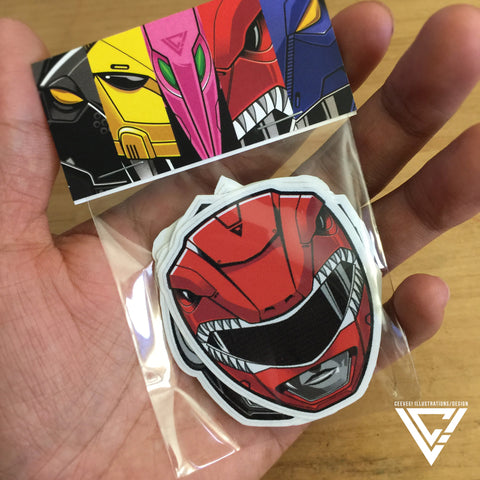 "Zyusquad 3"" Vinyl Sticker Pack (6 Stickers)"